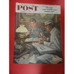 The Saturday Evening Post Magazine February 27,1954 (Cover Only) cover
