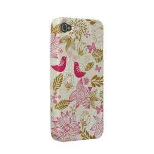 birds in love iphone 4/4s barely there case Iphone 4 Case