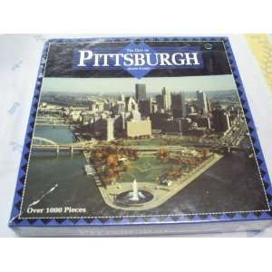 The City of Pittsburgh 1000 Piece Jigsaw Puzzle Toys & Games