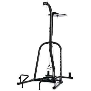 Everlast Dual Station Fitness Heavy Bag Stand  Sports