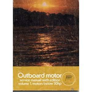 Outboard Motor Service Manual (1   Motors Below 30hp