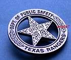tv s walker texas ranger badge pin c l returns