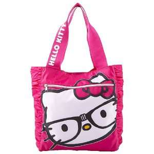 Sanrio Hello Kitty Nerd Large Pink Tote Bag