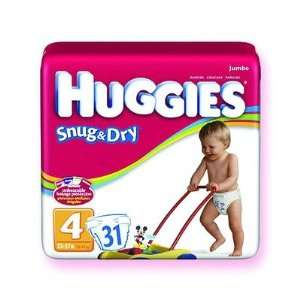 Huggies Snug and Dry Disposable Diaper Health & Personal