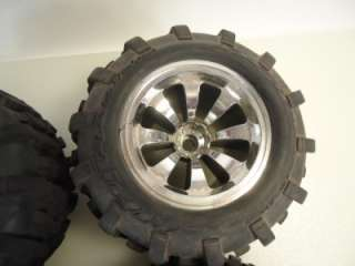 HPI Savage RC monster truck Wheels and tires