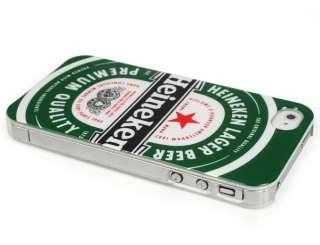New Heineken Beer Hard Back Housing Case Skin Cover for Apple iPhone 4