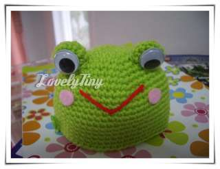 Blythe Crochet Frog Hat Charm and Lovely for Neo Blythe