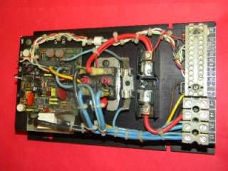 Baldor BC 155 DC Motor Speed Control 240V Input