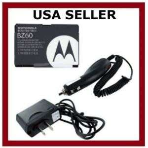Battery+Car+Wall Charger for Motorola RAZR RAZOR V3xx