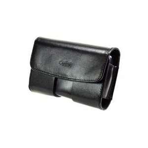 Premium Executive Black Side Horizontal Omega Leather Case