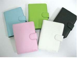New Leather carrying case cover for 4.3 inch GPS /MP5/ MP4