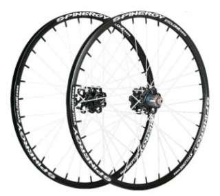Spinergy Xyclone Disc Mountain Bike Wheel Set, White PBO Spokes   NIB