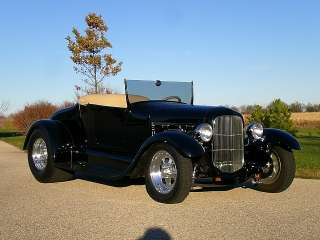1927 Ford T Bucket Wescott Body Fat Tire Street Rod with Total