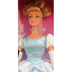 Disney Princess Doll  Cinderella with styling brush and