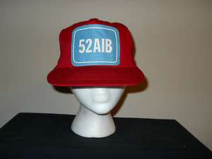 Vtg 52nd Airborne Ranger Snapback hat/cap 70s/80s MINT  patch