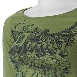 Ye Ye Brand Royal Angel Junior Vintage Print Top