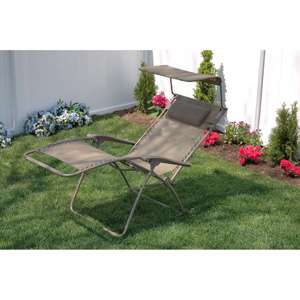 Bliss Wide Gravity Free Recliner with Sunshade, Multiple