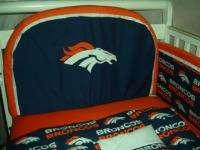 Baby Nursery Crib Bedding Set w/Denver Broncos fabric