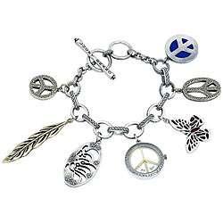 Lucky Brand Womens Charm Bracelet Watch