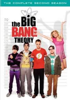 The Big Bang Theory   The Complete Second Season (DVD)