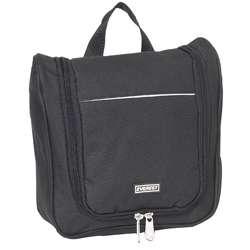 Everest 10 inch Black Waterproof Toiletry Bag