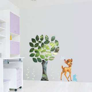 DISNEY BAMBI Mural Art Decor Wall STICKER Nursery Kids