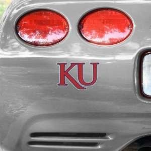NCAA Kansas Jayhawks University Wordmark Car Decal