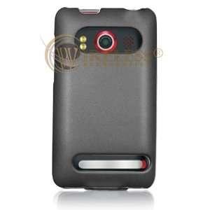 Titanium Grey Open Face Slim Back Cover for HTC EVO 4G Sprint