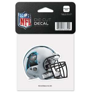 CAROLINA PANTHERS OFFICIAL LOGO COLOR DIE CUT DECAL