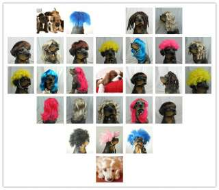 Synthetic Pet Wig Dogs Cats Wig LOVELY Dog Cat SUPPLIER