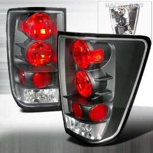 2004 2008 Nissan Titan Altezza Tail Light Black