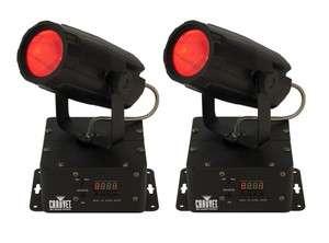CHAUVET Mini Moon LED 360 DMX Moonflower RGB Lights