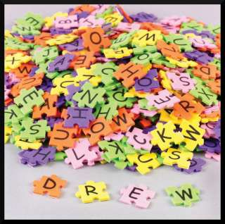 Stickers Shapes Letters Puzzle Pieces Kids Fun Learning ABCraft