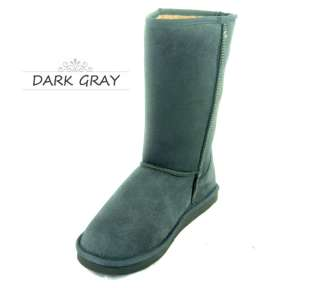 Womens Classic Faux Fur Trim Eskimo Style Warm Comfort Winter Boots