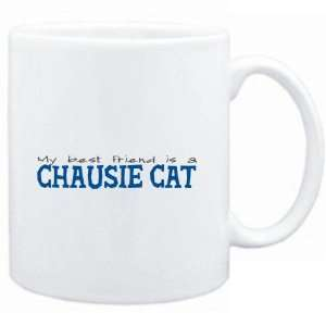 Mug White  My best friend is a Chausie  Cats Sports