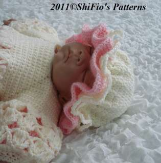 Baby Girl Crochet Patterns | eBay