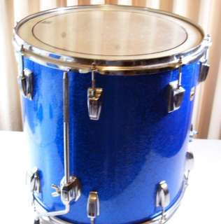 Vintage Ludwig Blue Sparkle 16x16 Floor Tom  Ludwig 16 Floor Drum