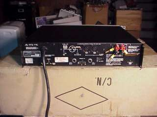 CROWN Macro Tech 600 Studio Audio Power Amplifier. In Good Working