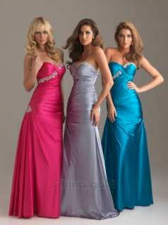 2012 hot Perfect bridesmaid/cocktail/wedding party dress prom gown
