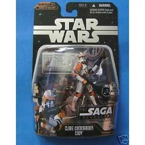 Star Wars Saga Collection Ultimate Galactic Hunt Clone Commander Cody