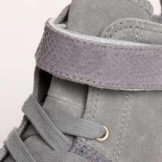 Skin Vulcanized High Shoes High top Fashion Casual Sneaker Gray