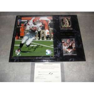 Derek Anderson Autographed Cleveland Browns Wall Plaque w