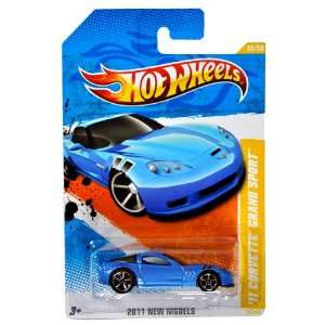 )   Blue Sports Coupe 11 CORVETTE GRAND SPORT (V0035): Toys & Games