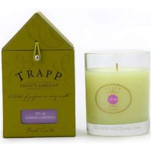 Trapp Candle Private Gardens No.60 Jasmine Gardenia 5oz