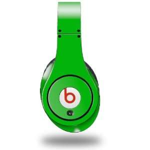 Green Decal Style Skin (fits genuine Beats Studio Headphones