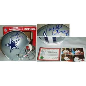 Terrell Owens Signed Dallas Cowboys Rep Helmet
