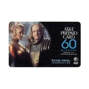 Collectible Phone Card 60m Star Trek Insurrection Movie
