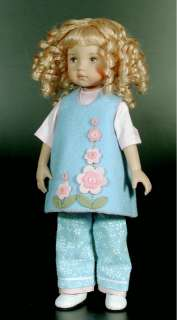 Boneka doll felt dress Size 24 cm / 10 Inch