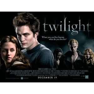 30x40 Kristen Stewart Robert Pattinson Taylor Lautner