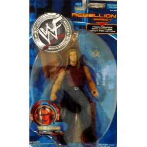 EDGE   WWE WWF Wrestling Rebellion Series 4 Figure with Table by Jakks